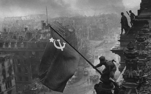 Взятие Рейхстага. 1945 год.